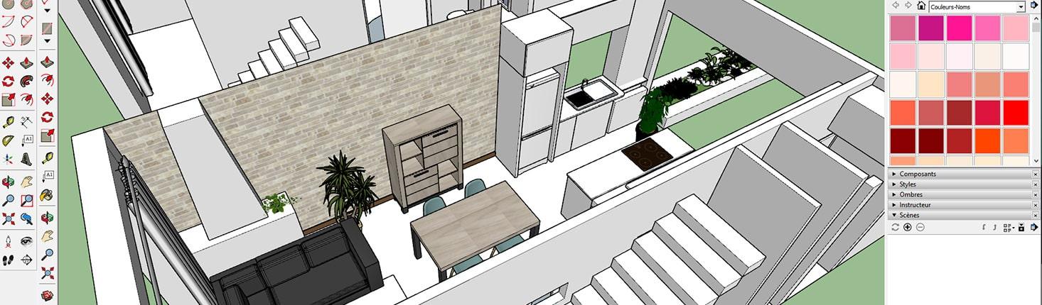 3D - 3 étapes pour réaliser des images 3D d'architecture 7